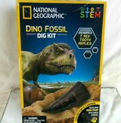 National Geographic Dino Fossil Dig Kit T. Rex Tooth Replica