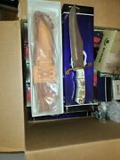 New Old Stock 13 Colt Alamo Bowie Knife Model Ct 409 New In Box Mint