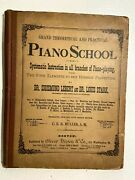 Antique Grand Theoretical And Practical Piano School - Sheet Music Book - 1800s