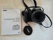 Nikon Coolpix P90 Digital Camera With Battery Charger