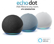 New Echo Dot 4th Generation - Charcoal | White | Blue | Kids Edition