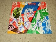 Ufo Signed Album Cover By Phil Mogg Michael Schenker Andy Parker+1 Coa