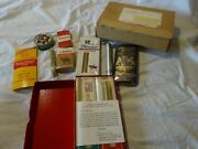 Vtg 70s Stock Holders Gift Set Tobacco Co. Empty W/tax Stamps Tobacciana Xl Lot