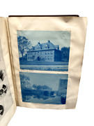 1890s Cyanotype And Ephemera Album Compiled By A Student At Tufts Massachusetts