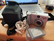 Canon Powershot A95 5mp Digital Camera With 3x Optical Zoom 9459a001 With Case