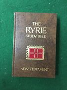 The Ryrie Study Bible Nas Version Holy Bible Brown Hardcover 1978 Moody Press