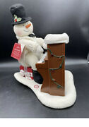 Hallmark Jingle Pals Piano Playing Singing Snowman Does Not Have Movement