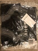 Misbhv W153 W157 Active Halter Top And Matching Active Shorts Black/white Xs/s