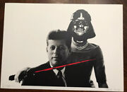 Death Nyc Lg 2013 Signed Limited Artists Proof - Jfk Kennedy Death's Early Work