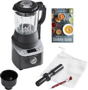 Nib - Pampered Chef Deluxe Cooking Blender And Smoothie Cup And Adapter Brand New