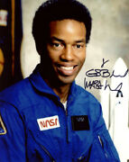 Guion Bluford Signed Autographed 8x10 Photo Astronaut Nasa Pioneer Beckett Bas
