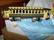 Lionel Mth 11-2024-0 No.8 Pay As You Enter Trolley Green And Cream New Old Stock