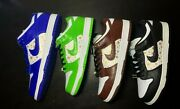 Nike Sb Dunk Low Supreme Stars | Black Green Brown Blue | 100 Authentic Ds