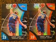 2007 Topps Finest Lebron James Red Refractor And Blue Refractor /199