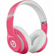 Genuine New Beats By Dr Dre Studio 2.0 Wired Over Ear Headphones Mhb12am/a Pink