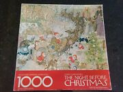 Springbok Twas The Night Before Christmas Puzzle 1000 Pieces Vintage Complete