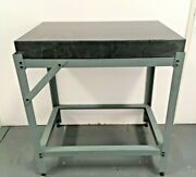Granite Machinist Surface Plate On Steel Stand