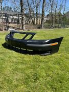 Saab 93 2004 Front Bumper Black Used Slightly Scuffed But Useableandnbsp