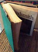 Woodsmith Magazine Collection Set Wood Crafting Woodworking Projects Tips Plans