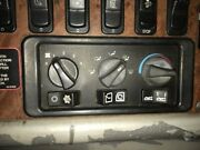 2008 Peterbilt 387 Heater And Ac Temp Control 3 Knobs 3 Switches