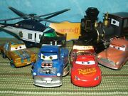 Disney Store Pixar Cars Planes, Trains, Cars And More Displayed Only