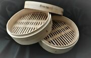 Helen Chen 12 Inch Round Bamboo Steamer With Lid