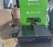 Microsoft Xbox One 500 Gb Console Black Tested And Working W Power Cable/box