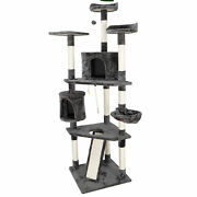 79 Cat Tree Condo Tower Play House With Perches Furniture Cat Pet Activity