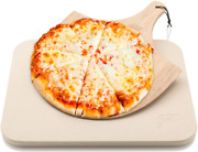 Pizza Stone By Hans Grill Baking Stone For Pizzas Use In Oven And Grill / Bbq Fr