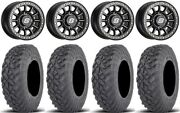 Sedona Sano Bdlk 14 Wheels Bk +30mm 32 Gripper T/r/k Tires Ranger Xp 9/1k