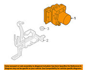 Audi Oem 2008 Rs4-abs Pump And Motor Assembly 8e0614517be