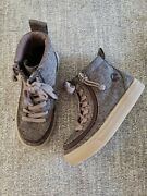 Billy Kids Toddler Boys Girls 11 M Zipper Brown Sneaker Discontinued Color