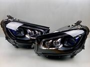 Complete 20 21 Mercedes Gls-class Left+right Led Headlight Set Pair Oem