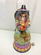 New Jim Shore Heartwood Creek For All Things Give Thanks Turkey 4044667 Musical