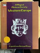 Xrp1006 Magical Medieval Society Western Europe 2nd Printing Erp D20 3rd Ed Dandd