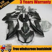 Matte Black Motocycle Fairing Kit For Kawasaki Ninja 650 Ex650 2012-2016 13 14