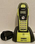 Uniden Dwx207 Submersible Waterproof Dect 6.0 Cordless Phone And Cradle No Battery