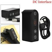 Rotary Wireless Tattoo Power Supply Battery Pack For Tattoo Machine Pen Rca Dc