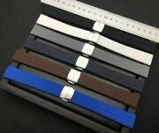 18 Mm Women Rubber Watch Band For Patek Philippe Aquanaut Ladies Silicone Strap