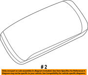 Jeep Chrysler Oem Grand Cherokee Center Console-armrest Lid Cover Top 1tl45hl1ac