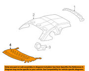 Ford Oem 04-05 Thunderbird Removable Top-package Tray 4w6z7646668baa