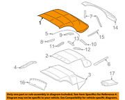 Ford Oem 2005 Thunderbird Convertible Top-cover Assembly 5w6z7652700aaa