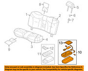 Lincoln Ford Oem 06-11 Town Car Rear Seat-armrest 9w1z5467112bc