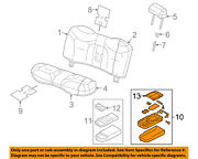 Lincoln Ford Oem 09-11 Town Car Rear Seat-armrest 9w1z5467112bb