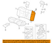 Lincoln Ford Oem 06-11 Town Car Rear Seat-seat Back Pad 8w1z54672a18a
