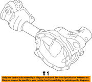 Ford Oem 95-96 Explorer Front-axle Housing F57z3010aa