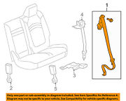 Buick Gm Oem 2008 Enclave Third Row Seat Belt-outer Belt Assembly Left 19178512