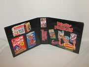 3 Inch Custom Made Wacky Packages Trading Card Album Binder