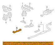 Honda Oem 96-00 Civic 1.6l-l4 Exhaust System-front Pipe 18210s01a21