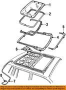 Ford Oem Moonroof-rail And Guide Assembly F8vy54502c06aa